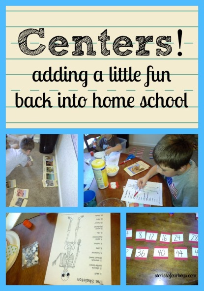 Centers for home school